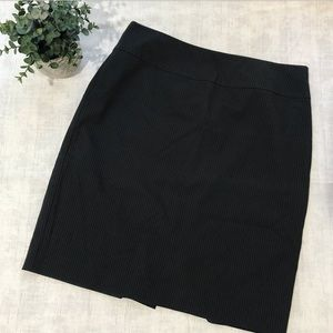 212 COLLECTION Pinstriped Pencil Skirt